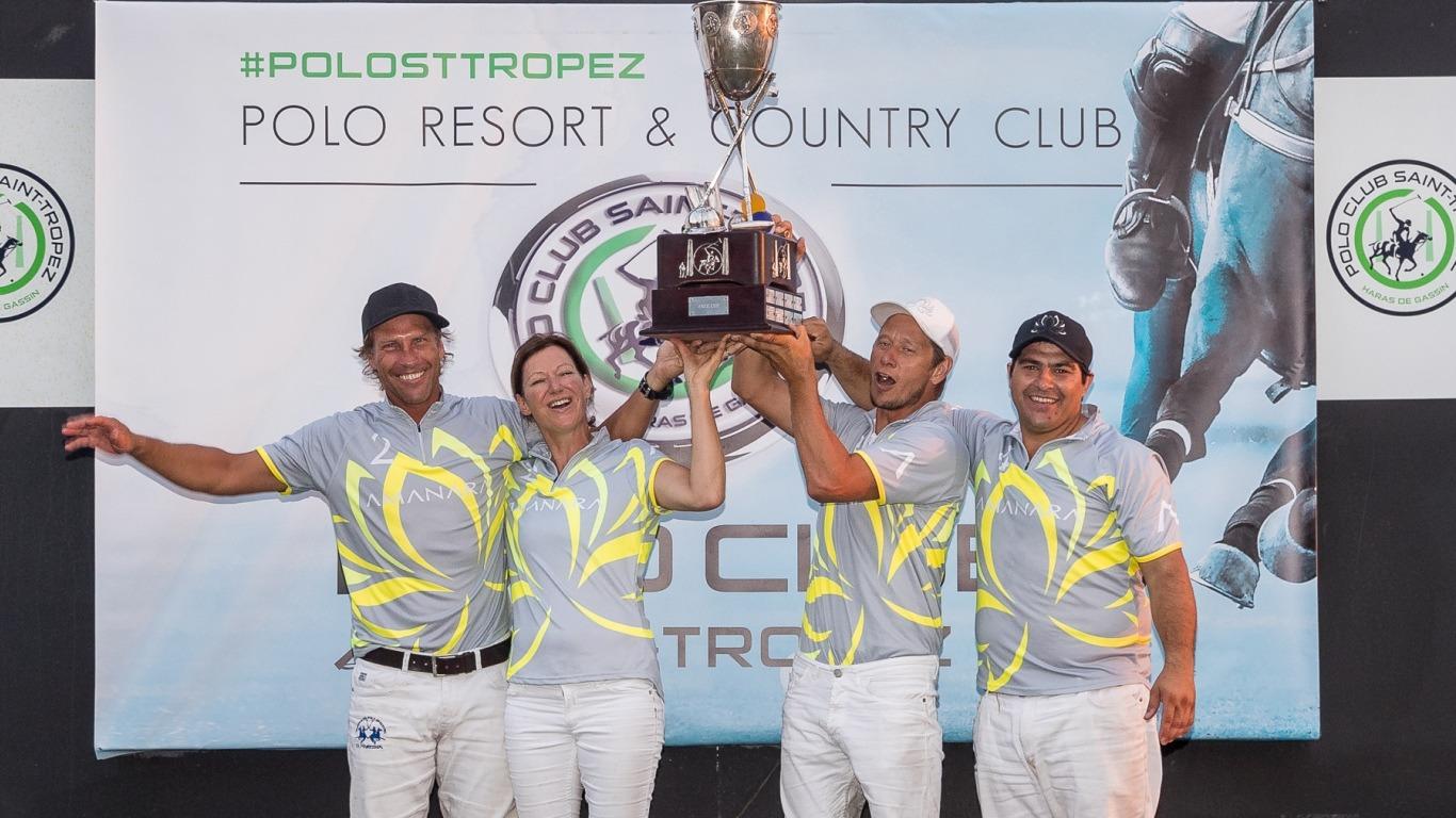 3 Fotos de Campeones Argentinos de Polo